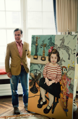 Artwork - Andy Spade in the NYC home he shares with designer wife Kate.PNG
